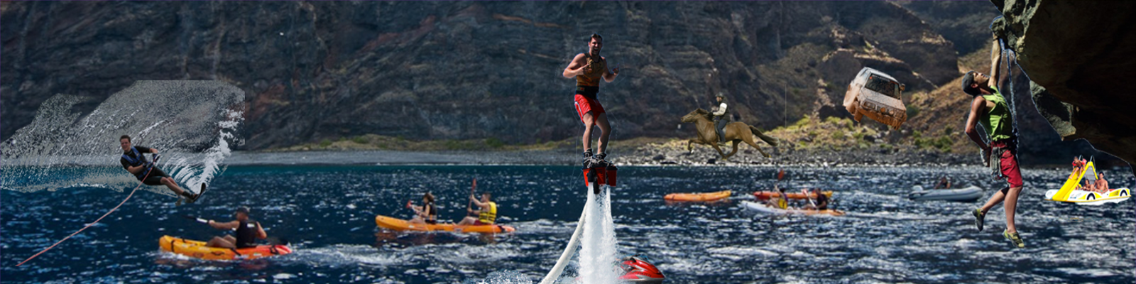 Find all sorts of adventure activities