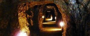 La Mina Agrupa Vicenta, es el atractivo principal de todo el complejo, ya que se trata de la primera y única mina subterránea de la Región de Murcia musealizada y acondicionada para la visita del público