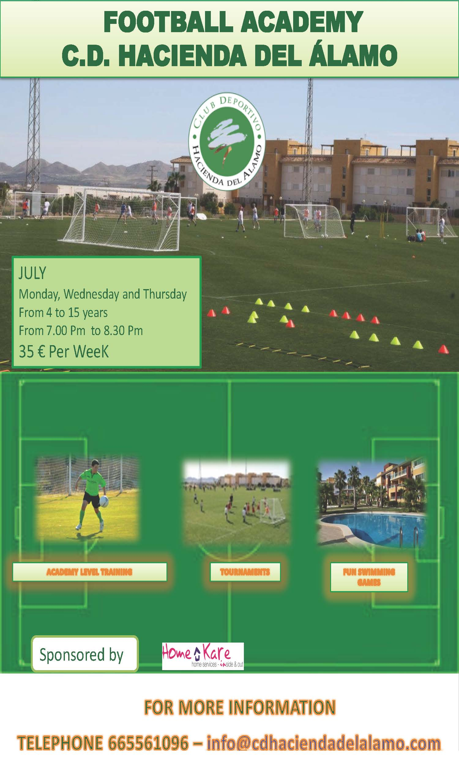 Football HDA July