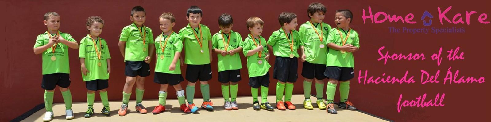 HOME KARE sponsor of the football school of HDA